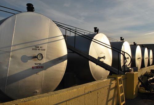 Diesel Fuel Oil Tanks
