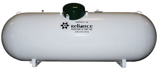 Reliance Propane Tank for Residential Customers