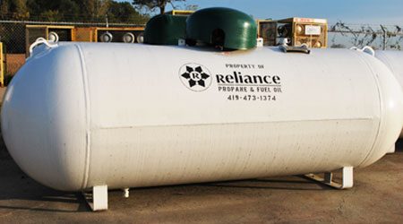 Reliance Energy - Propane Tank for Residential Home