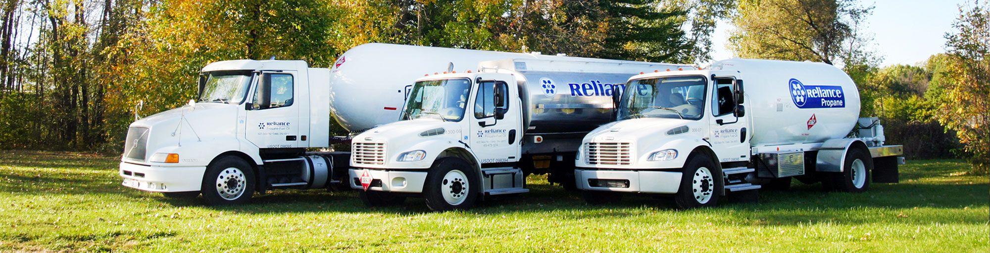 Reliance Fuel Delivery Fleet