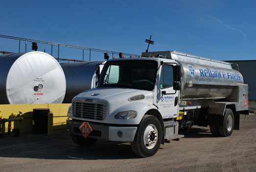 Reliance Fuel Oil Delivery Truck