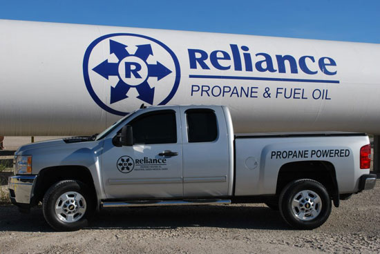 Reliance Energy Propane for Autos & Trucks