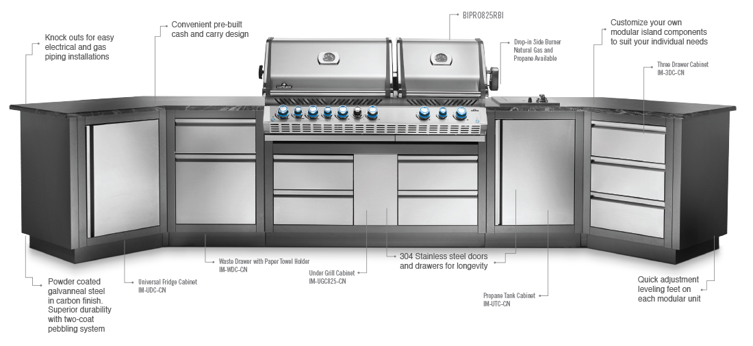 Napoleon Outdoor Kitchen - Oasis
